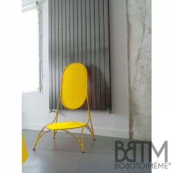 Love chair jaune