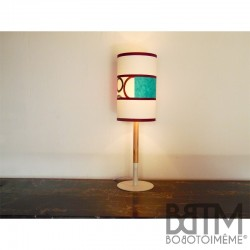 Lampe à poser - circles & Blue