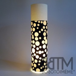 Lampe Tube Champagne