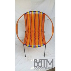Fauteuil Togo Mix Orange