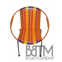 Fauteuil Togo enfant Mix Orange