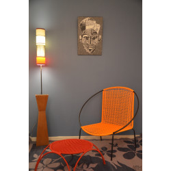 Fauteuil Togo XXL Orange
